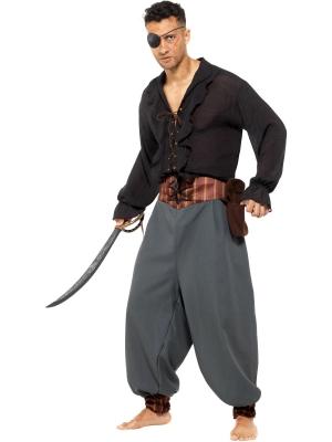 Pirāta bikses, melnas