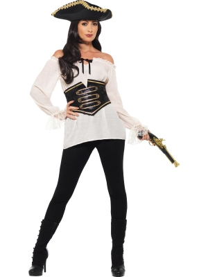 Deluxe Pirate Shirt, Ladies