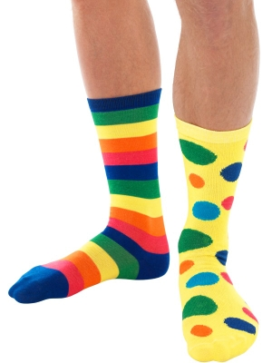 Big Top Clown Socks, Unisex