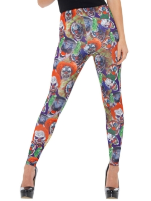 Creepy Clown Leggings