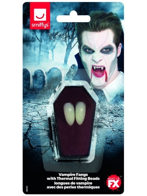 Vampīra ilkņi ar termiskām protēžu ielikšanas lodītēm