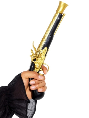 Pirātu pistole, reālistiska, 30 cm