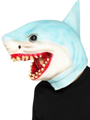 Haizivs maska, zila