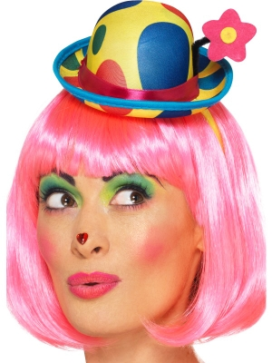Clown Mini Hat Headband