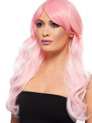 Fashion Ombre Wig, Pink