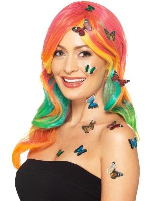 12 pcs, Butterfly 3D Sticker Set