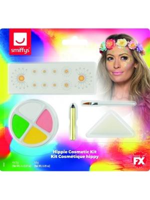 Hippie Cosmetics Kit, Aqua