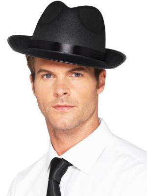 Filca cepure, melna