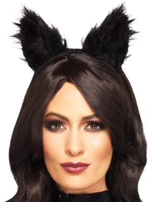 Kaķa ausis, melnas