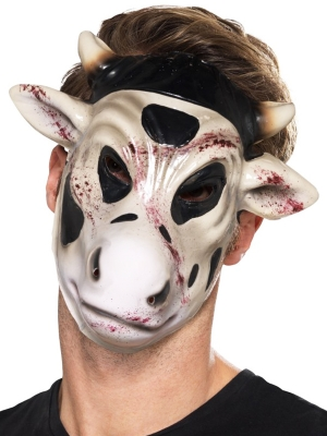 Ļaunas govs, slepkavas maska