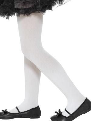 Колготки, белые, (6-12 лет)