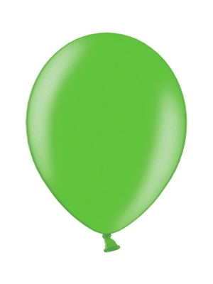 100 pcs, Celebration Balloons, green, 29cm