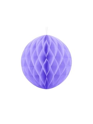 Papīra bumba, ceriņu krāsa, 30 cm