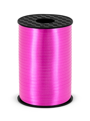 Plastic ribbon, fuchsia, 5mm/225m
