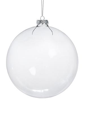 4 шт, Стеклянный шар, 12 см