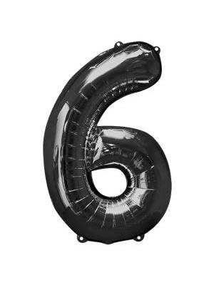 Folija, 6, melns, 58 cm x 86 cm