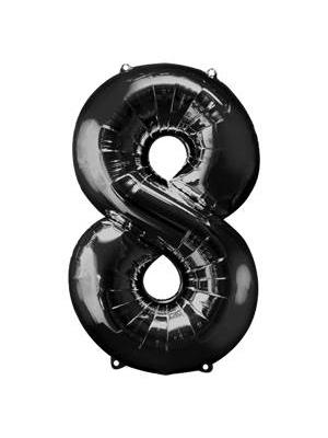 Folijas, 8, melns, 58 cm x 86 cm