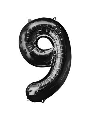 Folija, 9, melns, 58 cm x 86 cm