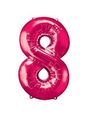 Folija, 8, rozā, 53 cm x 86 cm