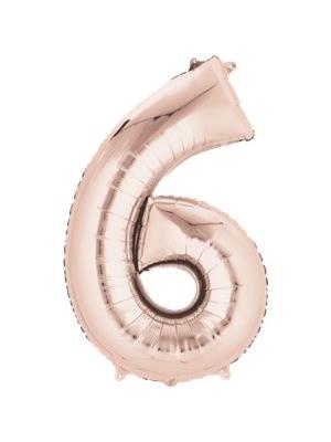 Folija, 6, rozā zelts,  55 cm x 86 cm