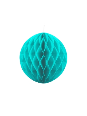 Papīra bumba, tirkīza, 30 cm
