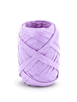 Raffia ribbon, 5mm/10m, lilac