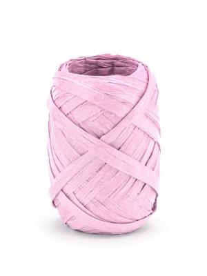 Rafijas lente, rozā, 5 mm x 10 m