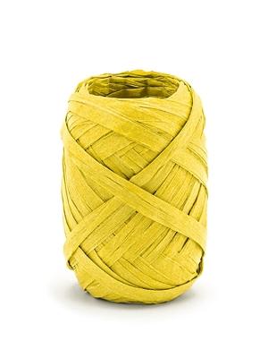 Rafijas lente, dzeltena, 5 mm x 10 m