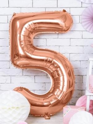 Folija, 5, rozā zelts, 86 cm
