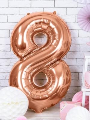 Folija, 8, rozā zelts, 86 cm