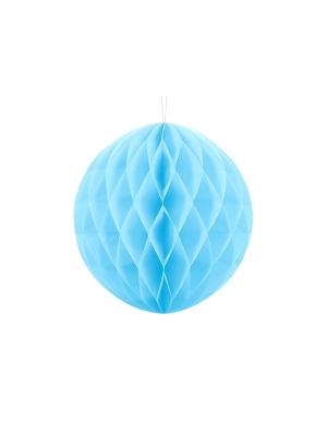 Papīra bumba, gaiši zila, 30 cm