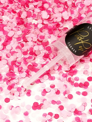 Plaukšķene Push Pop, gaiši un tumši rozā, 4.8 x 18 cm