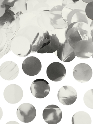Confetti Circles, silver, 15g