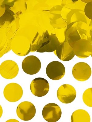 Confetti Circles, gold, 15g