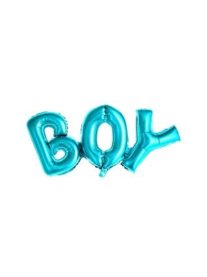 Folijas balons, Boy, zils, 67 x 29 cm