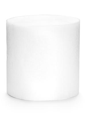 4 pcs, Crepe streamer, white, 5 cm x 10 m