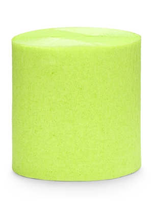 4 gab, Kreppapīra ruļļi, zaļo ābolu krāsa, 5 cm x 10 m