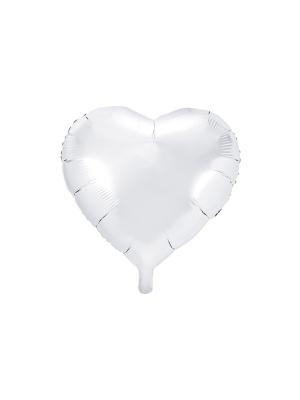 Heart, white, 45 cm