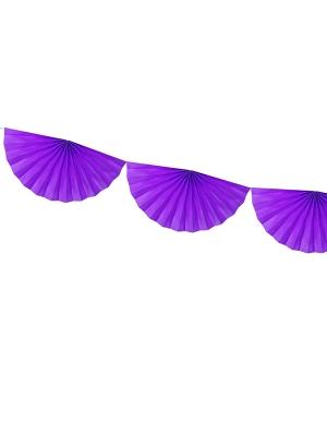 Virtene no rozetēm, violeta, 30 cm x 3 m