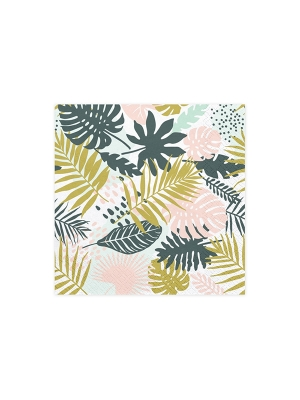 20 pcs, Napkins Aloha - Leaves, 33 x 33 cm