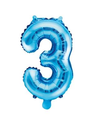 Folija, 3, zils, 35 cm