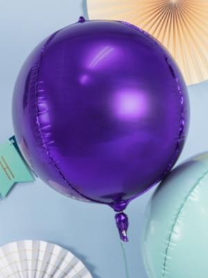 Bumba, violeta, 40 cm