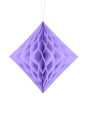 Papīra Dimants, ceriņu, 20 cm
