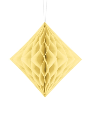 Honeycomb Diamond, cream, 20 cm