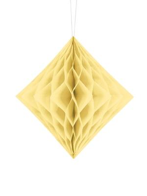 Honeycomb Diamond, cream, 20 cm