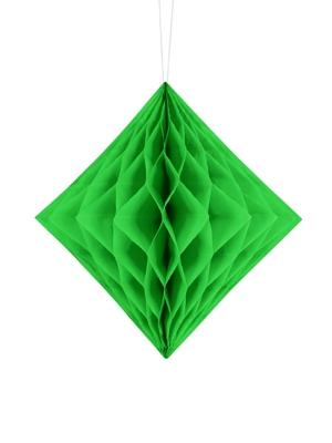 Papīra Dimants, gaiši zaļš, 20 cm