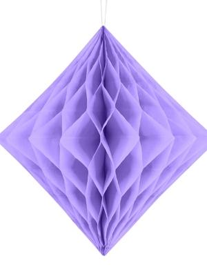 Papīra Dimants, ceriņu, 30 cm