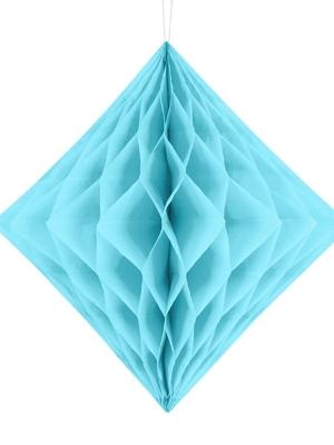 Papīra Dimants, gaiši zils, 30 cm