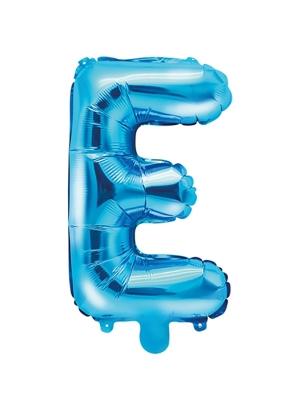 Folijas balons, E, zils, 35 cm