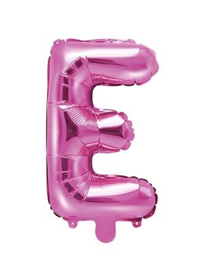 Folijas balons, E, tumši rozā, 35 cm